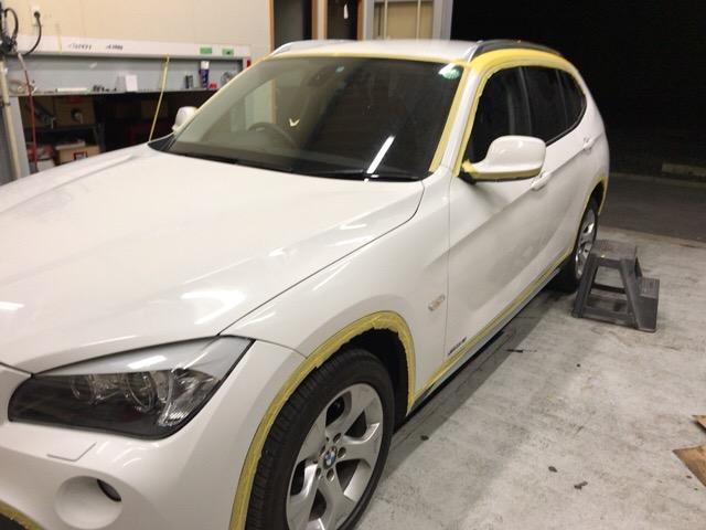 BMWガラスコーティング0580