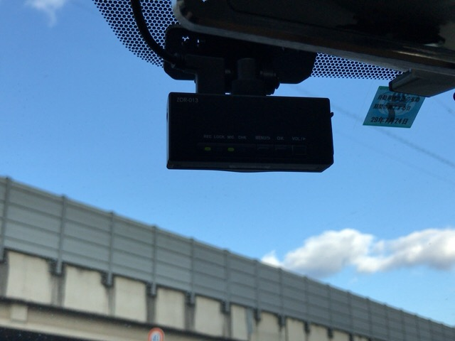 ドライブレコーダー取り付け0625
