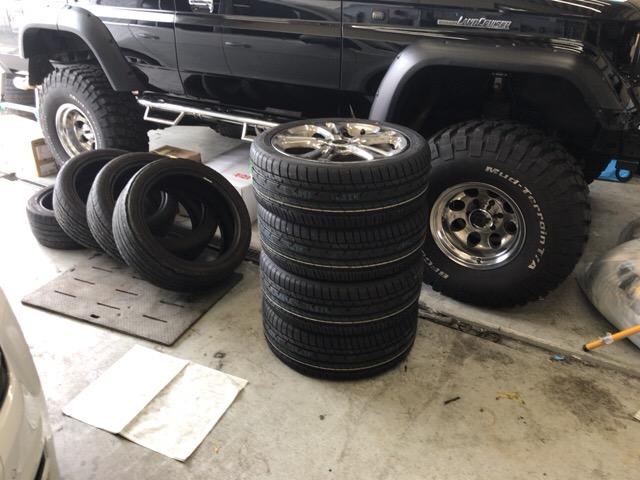 タイヤ交換1618